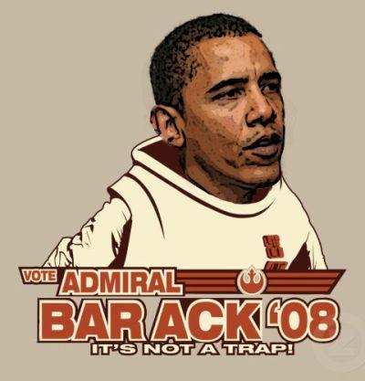 Barack Obama as Admiral Ackbar