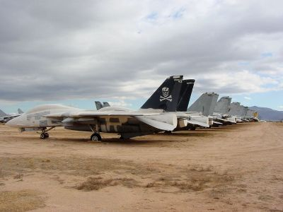 F-14s mothballed at Davis-Monthan AFB
