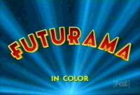 first Futurama opening screen