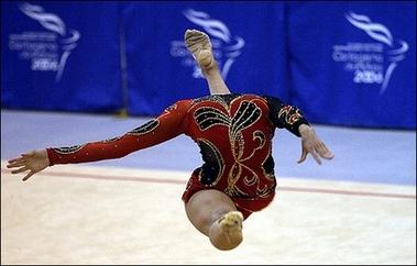 headless gymnast!