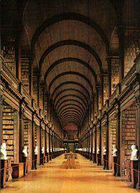 Long Room-Trinity Library, Dublin