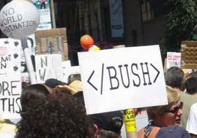 Nerd Protest Sign