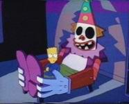 evil clown bed