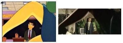 Simpsons movie reference - The Graduate