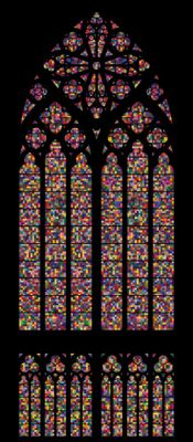 new Cologne Cathedral stained glass