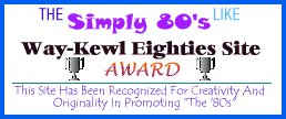 S80s Way Kewl Site [AWARD]