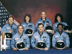 The valiant crew of the Challenger
