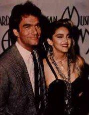 Huey Lewis and Madonna