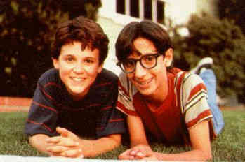Kevin and Paul from The Wonder Years